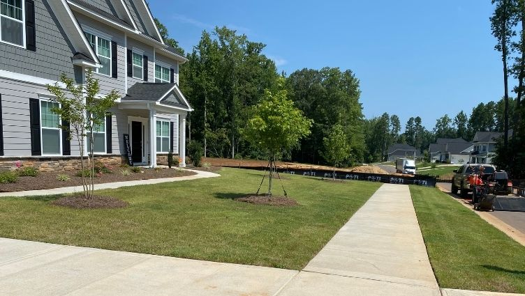 New Construction Lawn Service Charlotte